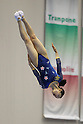 Ayano Kishi (JPN), JULY 8, 2011 - Trampoline : 2011 FIG Trampoline World Cup Series Kawasaki Women's Individual at Todoroki Arena, Kanagawa, Japan. (Photo by YUTAKA/AFLO SPORT) [1040]