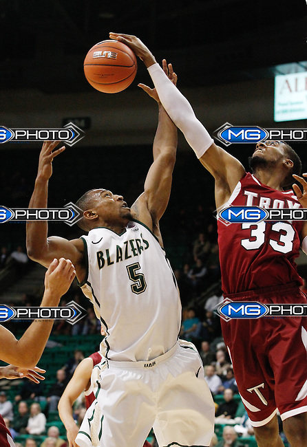 131114 UAB vs Troy Mens Basketball