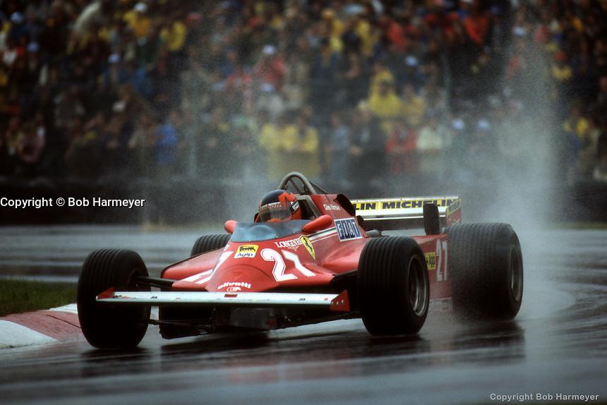 Gilles Villeneuve 1981 Formula 1 Canada Bob Harmeyer