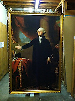 Reproduction of Gilbert Stuart (1755-1828)<br />