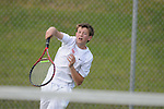 Lafayette's Garrett Reed vs. Mooreville in tennis action at Ole Miss in Oxford, Miss. on Wednesday, March 23, 2011.