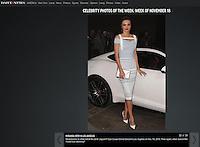 PLAYA VISTA, CA - NOVEMBER 19: Miranda Kerr at the 2015 Jaguar F-TYPE Coupe Global Debut held at Raleigh Studios on November 19, 2013 in Playa Vista, California. (Photo by Xavier Collin/Celebrity Monitor)