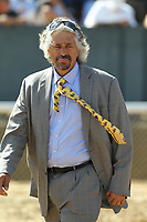 HOT SPRINGS, AR - APRIL 15: Trainer Steve Asmussen before the Count Fleet Sprint Handicap at Oaklawn Park on April 15, 2017 in Hot Springs, Arkansas. (Photo by Justin Manning/Eclipse Sportswire/Getty Images)