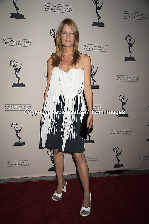 Michelle Stafford in GIlles dress