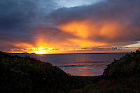 Sunrise from Ditleff Point<br /> St. John<br /> U.S.  Virgin Islands