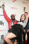Wyclef Jean and Stacy Igel-Arrivals-Boy Meets Girl Forever Young Fashion Show Held at Style 360, NY   9/12/12