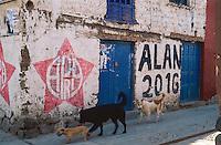 Electoral campaign. Pisac, Peru, 2016.