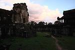 Dusk at Angkor Wat, Cambodia. June 8, 2013.