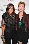 Donna Karan and Trudie Styler at the Ubuntu Education Fund New York City Gala, June 6, 2012.  © Diego Corredor / MediaPunch Inc. ***NO GERMANY***NO AUSTRIA***