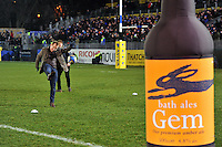 A general view of the half-time kicking challenge, courtesy of Bath Ales. Aviva Premiership match, between Bath Rugby and Northampton Saints on February 10, 2017 at the Recreation Ground in Bath, England. Photo by: Patrick Khachfe / Onside Images