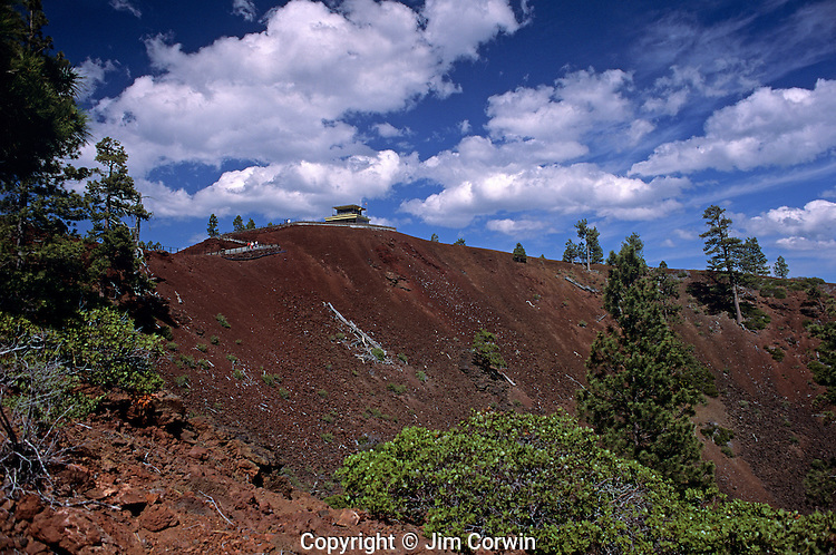 Lava Land trail look out Bend Oregon Central Oregon State USA