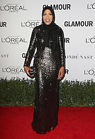LOS ANGELES, CA - NOVEMBER 14: Ibtihaj Muhammad at  Glamour's Women Of The Year 2016 at NeueHouse Hollywood on November 14, 2016 in Los Angeles, California. Credit: Faye Sadou/MediaPunch