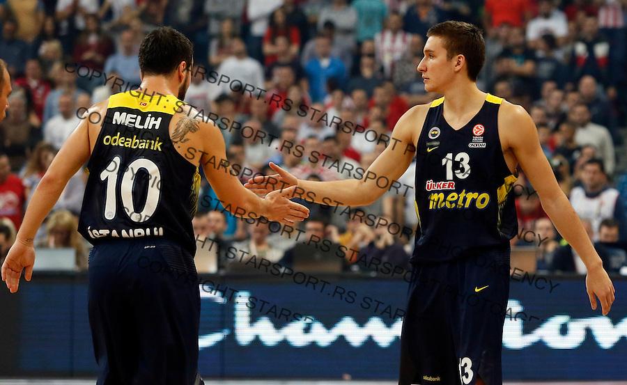 Bogdan Bogdanovic  Euroleague basketball game between Crvena Zvezda and Fenerbahce on Novembar 6. 2015 Beograd, Srbija, 6.11.2015.  (credit image & photo: Pedja Milosavljevic / STARSPORT)