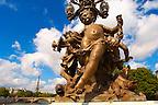 Paris - France - Pont Alexadre 111 - Statue