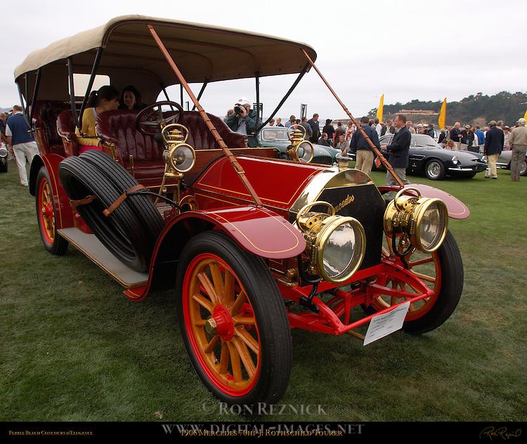 1906 Mercedes 70hp J. Rothschild Tourer, Pebble Beach Concours d'Elegance