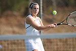 Lafayette's Kathryn Owen vs. Mooreville in tennis action at Ole Miss in Oxford, Miss. on Wednesday, March 23, 2011.