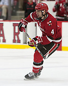 Mike Graham (SLU - 4) - The Harvard University Crimson defeated the St. Lawrence University Saints 6-3 (EN) to clinch the ECAC playoffs first seed and a share in the regular season championship on senior night, Saturday, February 25, 2017, at Bright-Landry Hockey Center in Boston, Massachusetts.