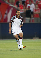 18 July 2012: Colorado Rapids midfielder Tony Cascio #32 in action during an MLS game between the Colorado Rapids and Toronto FC at BMO Field in Toronto, Ontario..Toronto FC won 2-1..