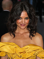 """NEW YORK CITY, NY, USA - MAY 05: Katie Holmes at the """"Charles James: Beyond Fashion"""" Costume Institute Gala held at the Metropolitan Museum of Art on May 5, 2014 in New York City, New York, United States. (Photo by Xavier Collin/Celebrity Monitor)"""