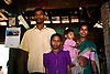 Family portrait of one of the many being persecuted by the hindu majority, Vikrangad, Mumbai