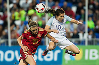 Frendly woman match between Spain and England