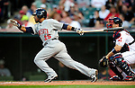 4 September 2009: Minnesota Twins' second baseman Alexi Casilla in action against the Cleveland Indians at Progressive Field in Cleveland, Ohio. The Indians defeated the Twins 5-2 to take the first game of their three-game weekend series. Mandatory Credit: Ed Wolfstein Photo