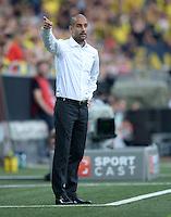 FUSSBALL   1. BUNDESLIGA   SAISON 2013/2014   SUPERCUP Borussia Dortmund - FC Bayern Muenchen           27.07.2013 Trainer Pep Guardiola (FC Bayern Muenchen)