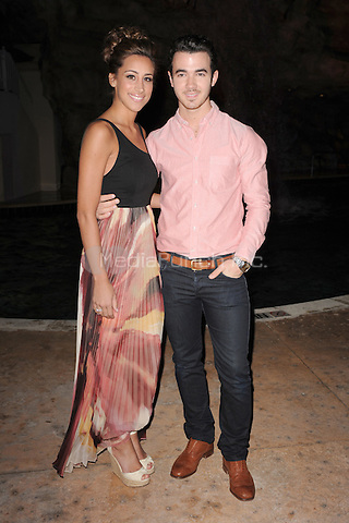 HOLLYWOOD FL - FEBRUARY 26 : Kevin Jonas arrives at the Jason Taylor Foundation's Charity Gala Dinner held at the Seminole Hard Rock hotel & Casino on February 26, 2012 in Hollywood, Florida. Credit:  Media Punch Inc.