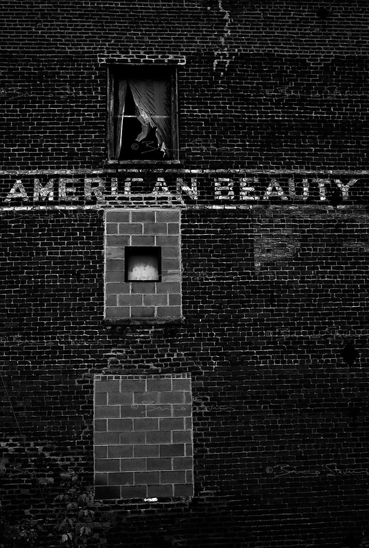Lynchburg, VA, USA, October 24, 2008.Abandonned factory.