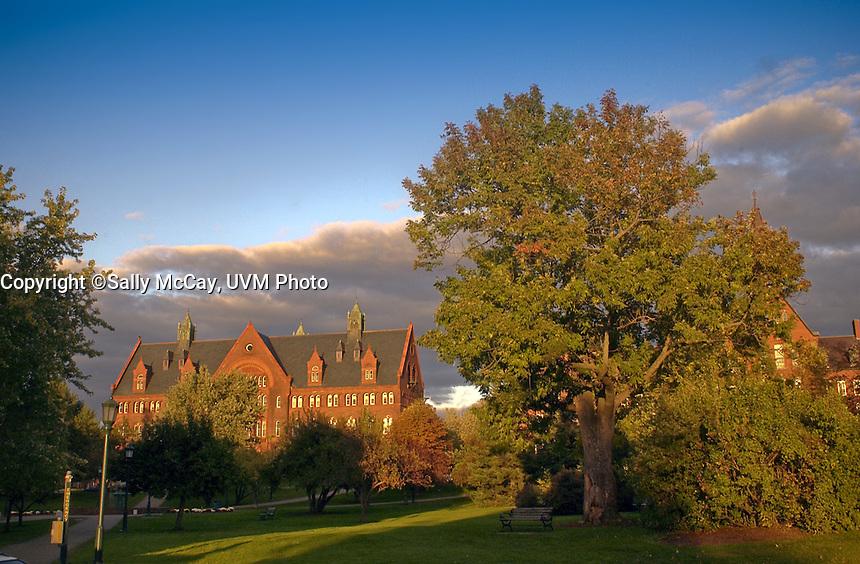Williams Hall, Fall UVM Campus