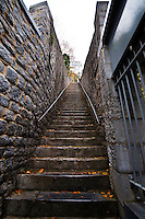 408 stairs to the top of the Dinant Citadel in Dinant, Belgium.