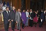 2nd Annual Interfaith Memorial Service for Haiti; Haiti earthquake; Haitiann; Haitians; Haitian-American; Haitian-Americans; clergy; clergyman; clergymen; Memorial service; January 11 2012; 2012; Brooklyn; Borough Hall; Brooklyn Borough Hall; New York; USA
