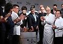Salon du Chocolat 2017 opening ceremony in Tokyo