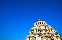 Alexander Nevsky Cathedral and surrounding area, Sofia, Bulgaria