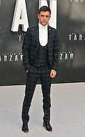 JJ Hamblett at the &quot;The Legend of Tarzan&quot; European film premiere, Odeon Leicester Square, Leicester Square, London, England, UK, on Tuesday 05 July 2016.<br /> CAP/CAN<br /> &copy;Can Nguyen/Capital Pictures /MediaPunch ***NORTH AND SOUTH AMERICAS ONLY***
