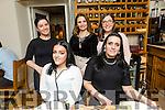 Mia Borcher, Oak Park Tralee, celebrates a Birthday with family at Bella Bia's on Friday. Pictured Denise Borchers, Mia Borchers, Carmen Borchers, Katriona Borchers and Brona Borchers