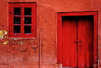 The red building in Malacca, Malysia an old colonial town near Singapore but on the Malasian side