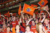 Cardiff, WALES.  Munster's  fans after the   the  2006 Heineken Cup Final,  Millennium Stadium,  between Biarritz Olympique and Munster,  20.05.2006. © Peter Spurrier/Intersport-images.com,  / Mobile +44 [0] 7973 819 551 / email images@intersport-images.com.   [Mandatory Credit, Peter Spurier/ Intersport Images].14.05.2006   [Mandatory Credit, Peter Spurier/ Intersport Images].