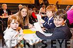 Enjoying the Mercy Mounthawk Secondary School Bingo Fundraiser on Sunday were Aodan O'Shea, Anne McEllistrim, Diarmuid O'Shea, Oisin O'Shea from Ballymac
