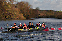 005 ABS Abingdon School. Wallingford Head of the River. Sunday 27 November 2011. 4250 metres upstream on the Thames from Moulsford railway bridge to Oxford Universitiy's Fleming Boathouse in Wallingford. Event run by Wallingford Rowing Club..