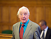 Orgreave campaigners hold Westminster rally before Home Secretary meeting<br /> 13th September 2016, Labour leader Jeremy Corbyn, Shadow Home Secretary Andy Burnham and other MPs join the Orgreave Truth and Justice Campaign <br /> Westminster, London, Great Britain <br /> <br /> Dennis Skinner MP <br /> speaks at meeting <br />  <br /> <br /> followed by an open meeting of campaigners and politicians ahead of a private meeting with Home Secretary Amber Rudd on the campaign&rsquo;s call for a public inquiry. <br /> <br /> Andy Burnham MP with <br /> Hillsborough campaigner Margaret Aspinall on his left <br /> <br /> <br /> Photograph by Elliott Franks <br /> Image licensed to Elliott Franks Photography Services