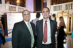 Waterbury, CT- 28 April 2017-042817CM14-  From left John Palumbo of Seymour and Graham Main of Shelton  are photographed during the 10th annual Jane Doe No More gala and awards ceremony at the Palace Theater in Waterbury.   Christopher Massa Republican-American