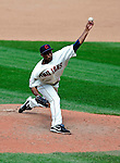 6 September 2009: Cleveland Indians' relief pitcher Tony Sipp on the mound against the Minnesota Twins at Progressive Field in Cleveland, Ohio. The Indians defeated the Twins 3-1 to take the rubber match of their three-game weekend series. Mandatory Credit: Ed Wolfstein Photo