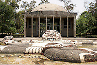 The Fuente de Tlaloc by Diego Rivera in the Second Section of Chapultepec Park, Mexico City, Mexico