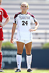 11 September 2011: Texas A&M's Rachael Balaguer. The Texas A&M Aggies defeated the University of North Carolina Tar Heels 4-3 in overtime at Koskinen Stadium in Durham, North Carolina in an NCAA Division I Women's Soccer game.