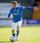 St Johnstone v Dundee....11.04.15   SPFL<br /> Chris Millar<br /> Picture by Graeme Hart.<br /> Copyright Perthshire Picture Agency<br /> Tel: 01738 623350  Mobile: 07990 594431