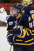 Connor Jones (Quinnipiac - 10) - The visiting Quinnipiac University Bobcats defeated the Harvard University Crimson 3-1 on Wednesday, December 8, 2010, at Bright Hockey Center in Cambridge, Massachusetts.
