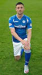 St Johnstone FC Photocall, 2015-16 Season....03.08.15<br /> Michael O'Halloran<br /> Picture by Graeme Hart.<br /> Copyright Perthshire Picture Agency<br /> Tel: 01738 623350  Mobile: 07990 594431
