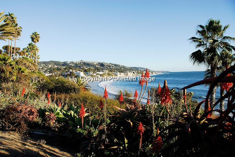 Laguna Beach Stock Photograph