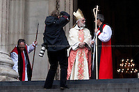 25.01.2012 - Archbishop Of Canterbury At St Paul's Cathedral